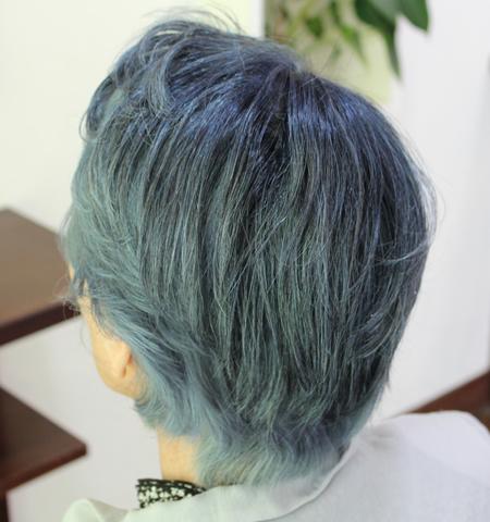 人毛白髪のヘアピース