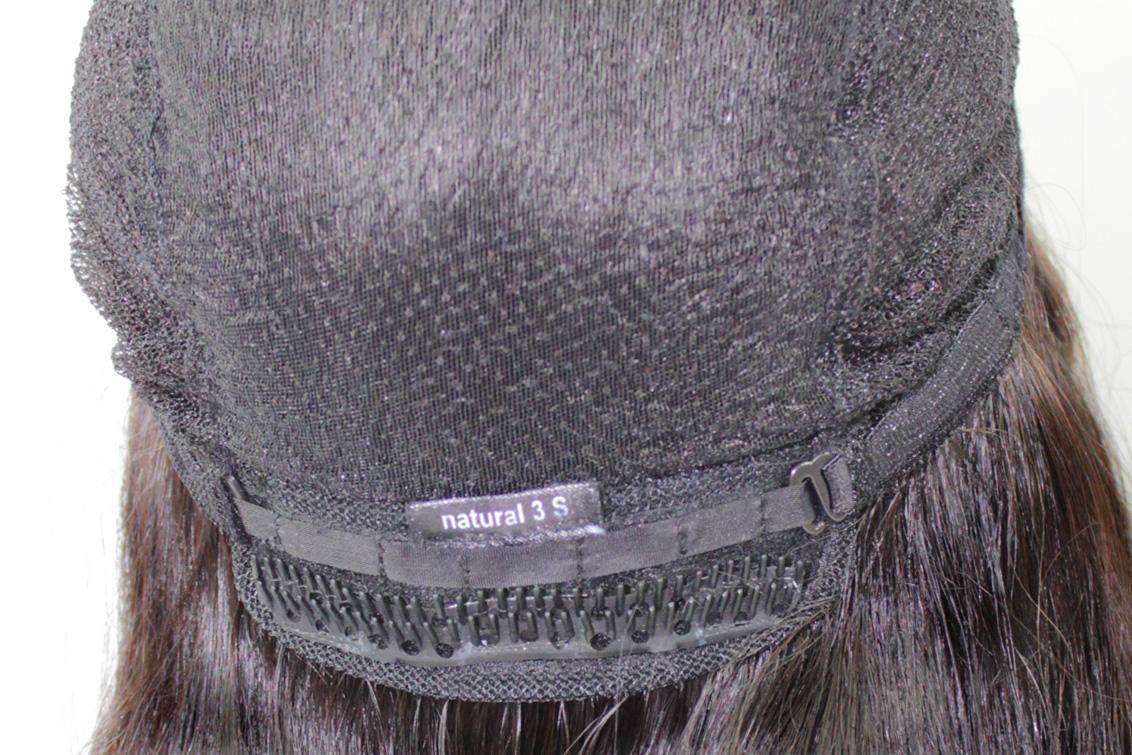 医療用抗がん剤脱毛用ウィッグの裏側