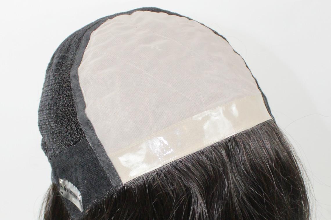 女性用医療用抗がん剤脱毛用ウィッグMQ600の裏側