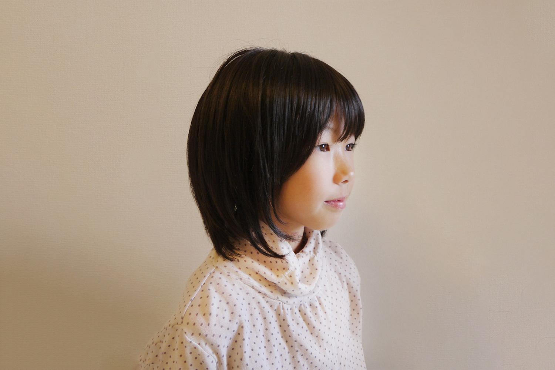 医療用ウィッグ 女性用 MQ200 人毛人工毛ミックス お子様も被れます