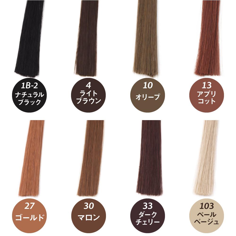 ナチュラルKISSウィッグかつら髪色8色から選ぶ