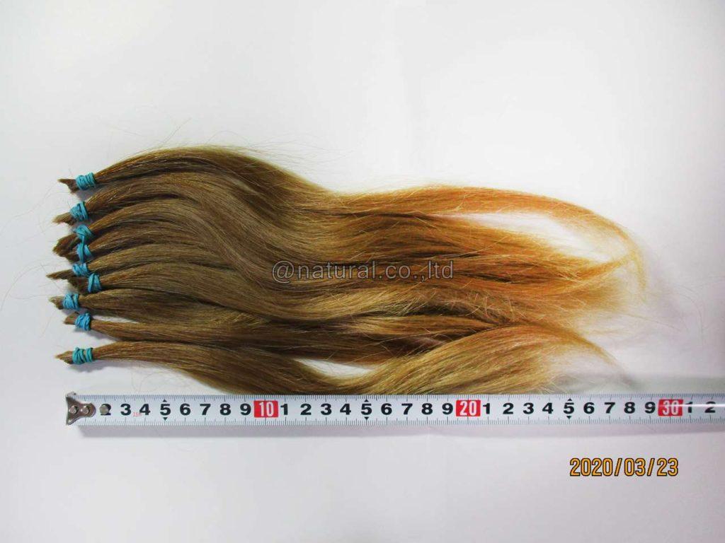 自毛で作るヘアピース