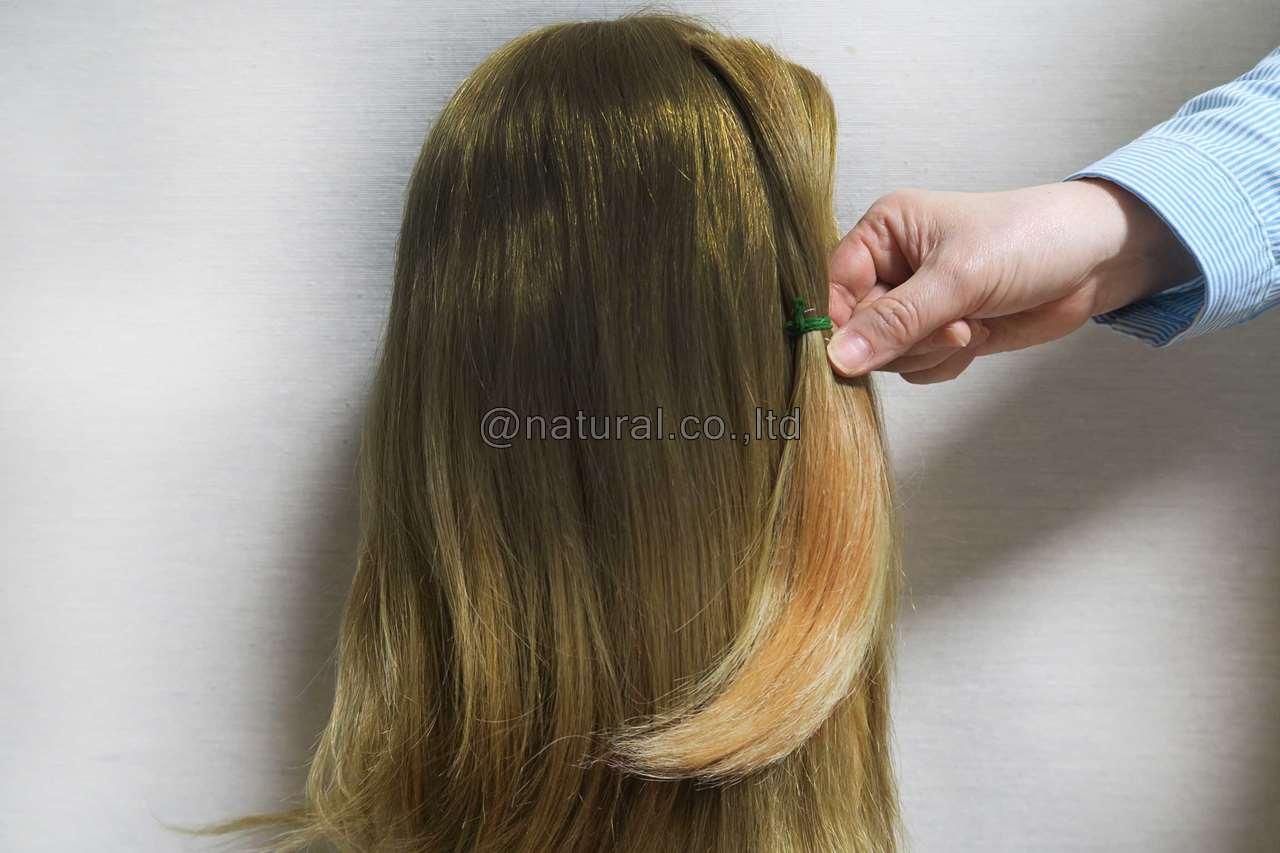 自毛で作る医療用ウィッグ