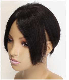 分け目が薄い 白髪が目立つ 毛染めの回数を減らすウィッグ